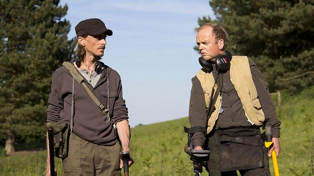 Detectorists leading men Mackenzie Crook and Toby Jones