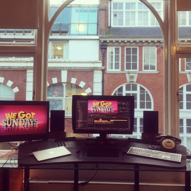 Preview of what's to come for the weekend #postproduction #posthouse #soho #london #luckycat #wegotsundays #production #media #tv #website