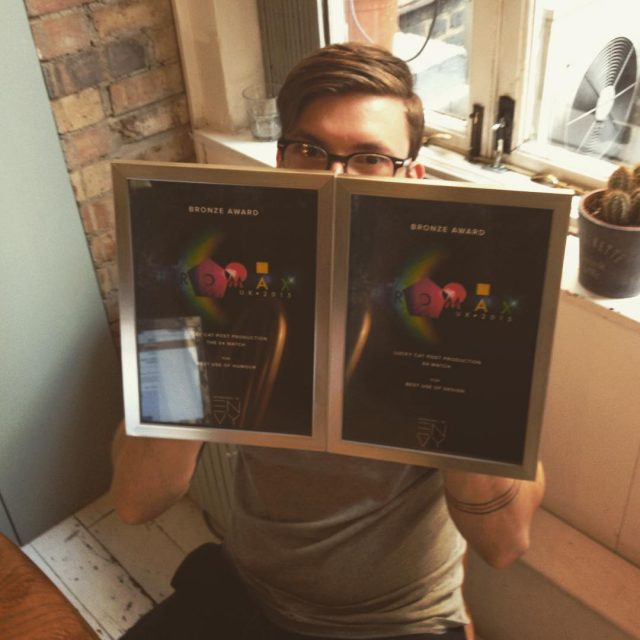 We came away with two bronze awards at last years @promaxbda !  #sohoproduction #luckypost #postproduction #website